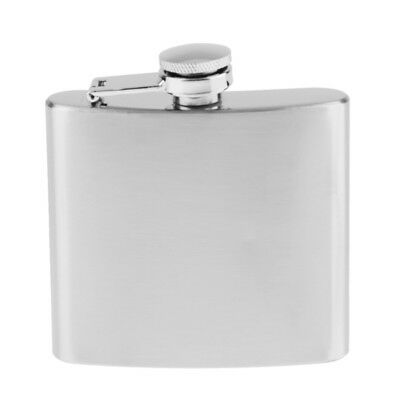 5oz Stainless Steel Alcohol Flagon Portable Hip Flask Whiskey Drinkware