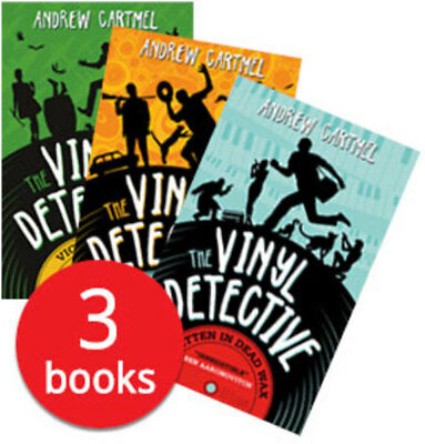 The Vinyl Detective Collection - 3 Books