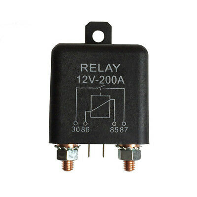 Useful 12V Normally Open 4 Pin Relay Heavy Duty Automotive Split Charge 1/2/3Pc