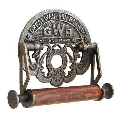 Toilet Roll Holder Great Western Railway GWR - Cast Iron Train Railway Theme