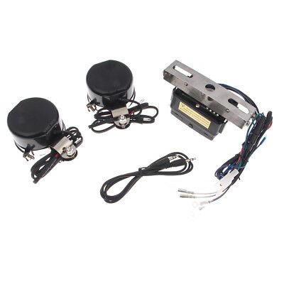 Electricbicycle Audio Radio MP3 iPod Stereo Speakers Sound System P TK11 Silver
