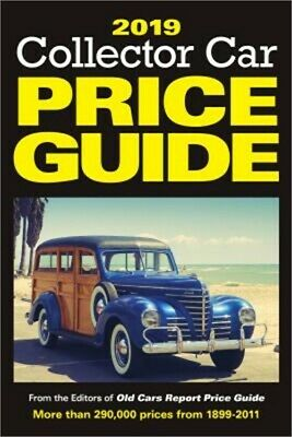 2019 Collector Car Price Guide (Paperback or Softback)