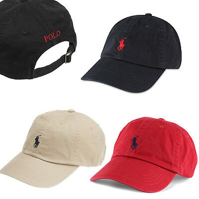Classic RL Polo Small Embroidery Pony Baseball Cap Mens Womens Adjustable Hat