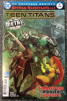 Teen Titans #12 (2017) 1st Appearance Of Batman Who Laughs