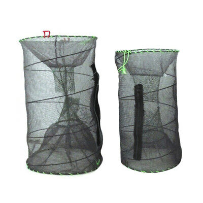 Fishing Cage Lobster Shrimp Crab Crayfish Bait Fish Live Trap Cage Pot boat Sea