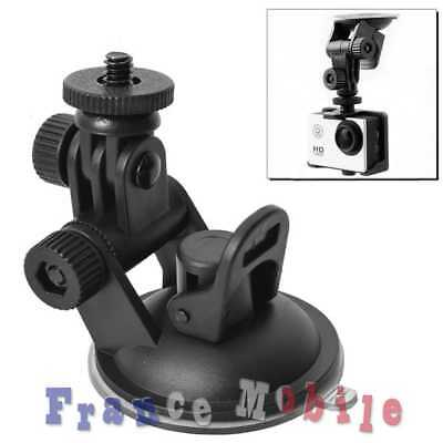 Support fixation ventouse camera GoPro Hero 1 2 3 3+ 4 5 SJ4000 photo moto quad