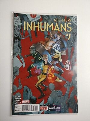 All New Inhumans Issue # 1 - Marvel 2015 - First Print NM