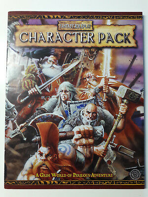 Warhammer Fantasy Roleplay 2nd edition: Character Pack