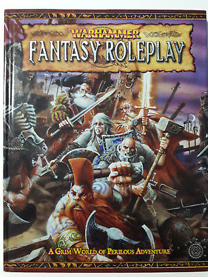 Warhammer Fantasy Roleplay 2nd edition: Rulebook