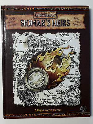 Warhammer Fantasy Roleplay 2nd edition: Sigmar´s Heirs
