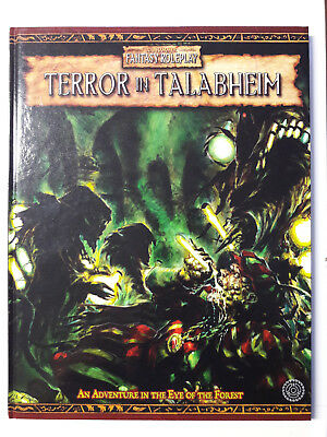 Warhammer Fantasy Roleplay 2nd edition: Terror in Talabheim
