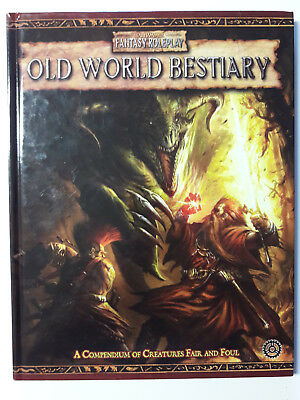 Warhammer Fantasy Roleplay 2nd edition: Old World Bestiary Compendium