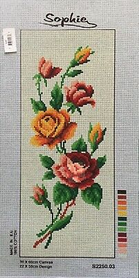 Roses Tapestry To Stitch