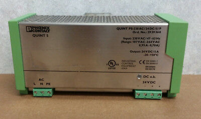 Quint PS-230AC/24DC/5/F Power Supply
