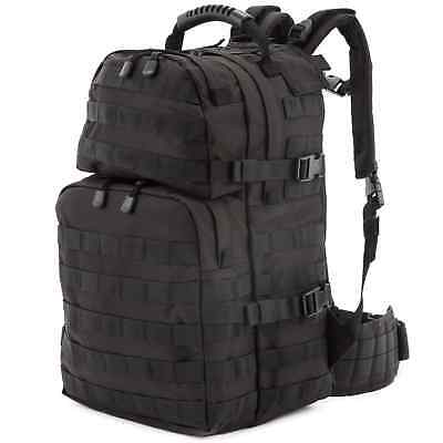 US Army Assault Pack Outdoor Backpack 35L Army Bag Pack Bag Black