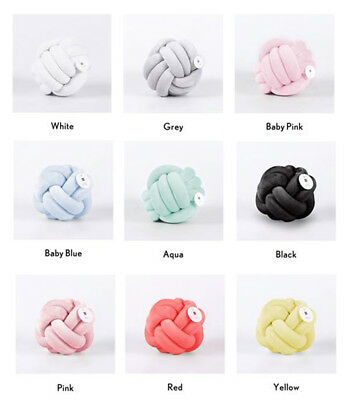 Knot Cushion Knotted Ball Pillow Throw Home Decoration Handmade - Large Size
