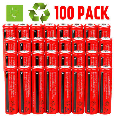 Lot Ultrafire 18650 3000mAh Li-ion 3.7V Rechargeable Batteries for led Torch USA