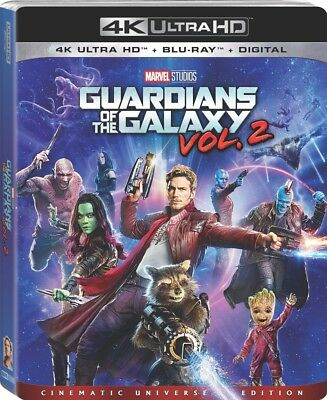 Guardians of the Galaxy Vol. 2 4K [4K Ultra HD + Blu-ray] New and Sealed!!