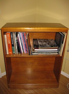 Vintage Maple Bookcase  The Sweat Comings Company Vermont Pickup only