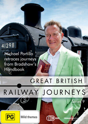 Great British Railway Journeys: Series 9  - DVD - NEW Region 4