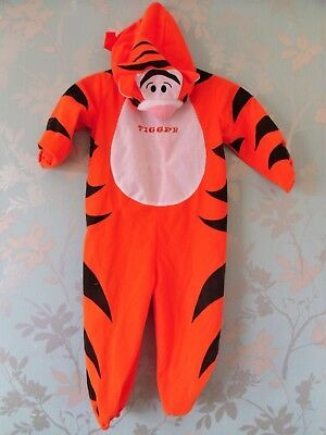 Disney Tigger Fancy Dress Costume Size 2-3