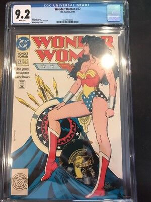 Wonder Woman 72 CGC 9.2 NM Iconic Brian Bolland Cover DC Comics