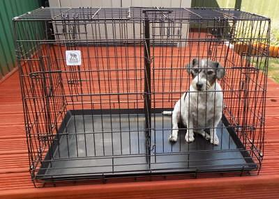 36 inch & 30inch  CAR BOOT SLOPING DOG CAGES, FOR DOG / PUPPY ETC,, 4 DOORS,