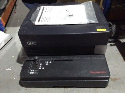 GBC Magnapunch Electronic Binding Punch