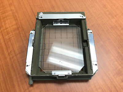 SINAR NORMA REAR 4x5 FRAME with ground glass NEAR MINT