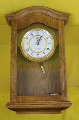New Westminster Quartz Wooden Wall Mounted Kitchen Clock ##WIFTS02RG