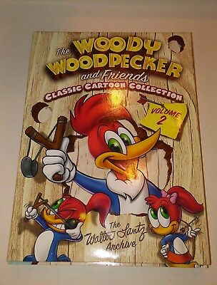 Woody Woodpecker and Friends Volume 2 (3 DVD set) Walter Lantz Collection
