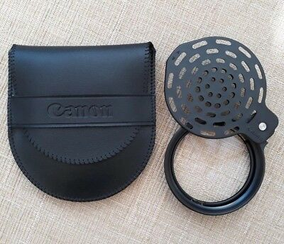 Canon flash diffuser with case