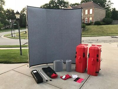 Nomadic Instand Portable Carpeted panel , Trade Show , Convention