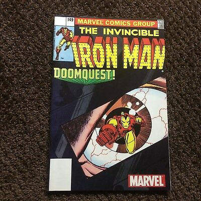 Invincible Iron Man #149 - Reprint that came with Marvel Legends Figure