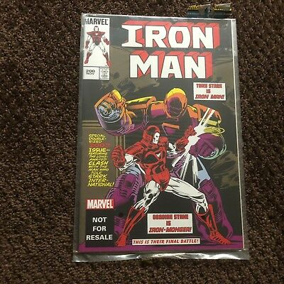 Iron Man #200 - Reprint that came with Marvel Legends Figure - Iron Monger