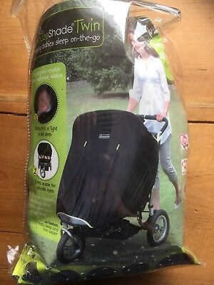 Original Snooze Shade Twin Universal For Double Buggy - Never Used