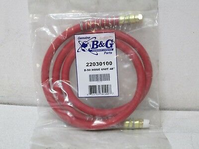 "B&G D-50 Hose Unit 48"" Replacement Sprayer Hose NEW FREE SHIPPING"