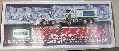 """2008 Hess Truck """"New in Box"""" (11993-closet-Y)"""