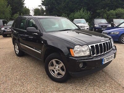 Jeep Grand Cherokee CRD LTD Auto with leather LONG MOT , 1p START(No Reserve)
