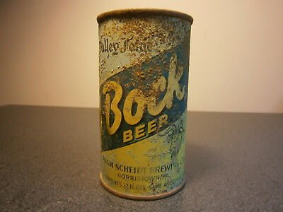 Valley Forge Bock flat top beer can USBC 143-6 OT Norristown PA