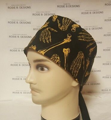 Bones  / Men's  Scrub Cap/surgical Hat