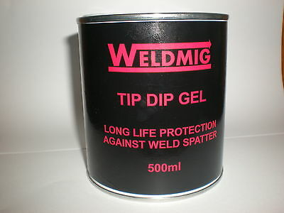 Tip Dip Anti Spatter Paste (500ml) Protects TIG - MIG Welding Torches.