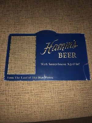 Vintage Theo Hamm Hamm's Beer ROG Sign Glass  Part Back Bar Display