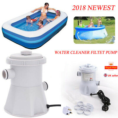 220V Electric Cleaner Swimming Pool Filter Pump For Above Ground Pools Cleaning