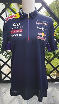 Red Bull Racing Pepe Jeans Formel 1 Polo T-Shirt Gr.S Unisex