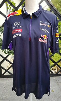 Pepe Jeans Red Bull Racing Polo Shirt Gr. XL Unisex