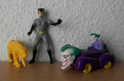 McDonalds 1994 - Batman - 2 Figuren - Catwoman und Joker