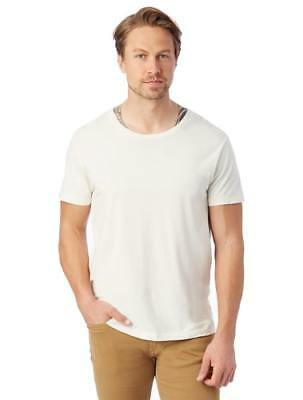 New Alternative Apparel Mens Heritage Garment Dyed Distressed T-Shirt