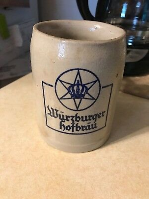 Wurzburger Hofbrau German beer mug