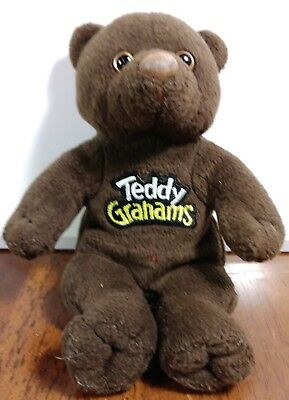 Nabisco Teddy Grahams Plush Bear - Chunky Chocolate the Bear